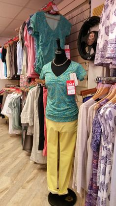 Our ladieswear department in our countrywear and lifestyle shop on Eastgate in Louth, Lincolnshire. We've still got bargains available from quality brands like RM Williams, Royal Robbins and Braintree.