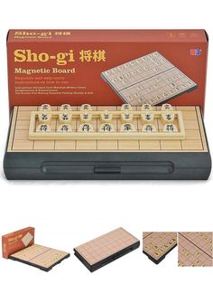 [Visit to Buy] Japan Sho-gi Chess Game,Magnet Material Board,Travel Package Easy To Carry Family Game With Free Shipping #Advertisement