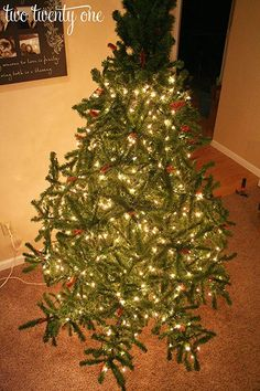 how to put lights on christmas tree 3....Yes! Finally a brilliant how to put lights on a tree!