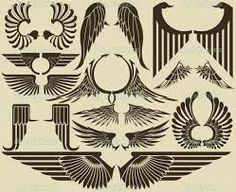Resultados da Pesquisa de imagens do Google para http://static6.depositphotos.com/1050737/564/v/950/depositphotos_5648706-Vintage-Wings.jpg