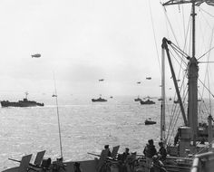 Invasion Fleet For_D-Day, Normandy 1944 - Operation Overlord