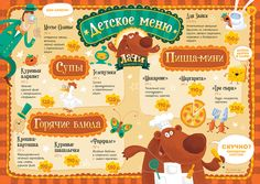 Lachi Kids' Menu on Behance