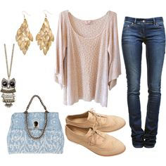 Simple. . . love this look, welllll minus the shoes ; ) don't think I could pull those off!