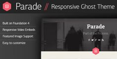 Parade - Responsive Ghost Theme