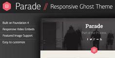 Parade - Responsive Ghost Theme