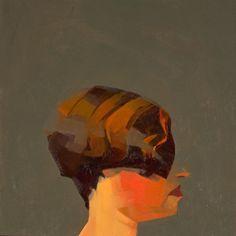 "Susan 2000 oil on panel 6""x6""    Catherine Kehoe"