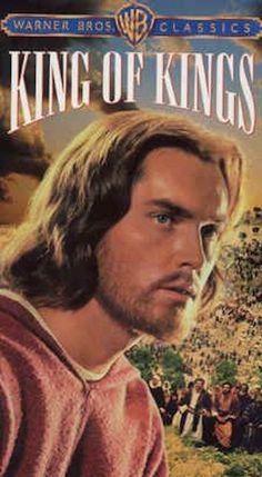 "King of Kings (1961) will be on TV Sun. April 16 at 10:30pm on TCM (230). Start Jeffrey Hunter as Jesus Christ. See ""On TV"" at http://www.imdb.com/title/tt0055047/?ref_=nv_sr_1 for more details. For DVD's go to: https://www.amazon.com/King-Kings-Jeffrey-Hunter/dp/B006QQ217W/ref=sr_1_2?s=movies-tv&ie=UTF8&qid=1491604923&sr=1-2&keywords=king+of+kings"