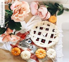 Baking a sweet treat this weekend? Anthropologie has your kitchen supplies covered. Photo by Anthropology Home, Halloween Decorations, Table Decorations, Kitchen Supplies, Christmas Music, Sweet Memories, Kitchen Essentials, Measuring Spoons, Fall Halloween