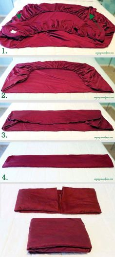 35 ideas for clothes closet organization diy organisation Linen Closet Organization, Organization Hacks, Storage Hacks, Folding Fitted Sheets, Household Cleaning Tips, Cool Apartments, Getting Organized, Diy Clothes, Fold Clothes