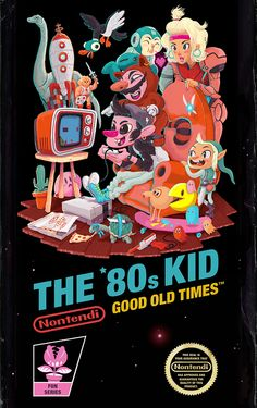 THE '80s KID on Behance