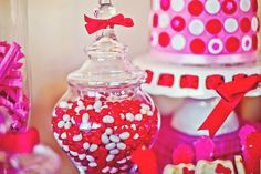 Red, pink & White Hello Kitty  9th Birthday Party by Couture Crafts