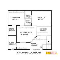 civil engineering drawing house plan Google Search Floor plans