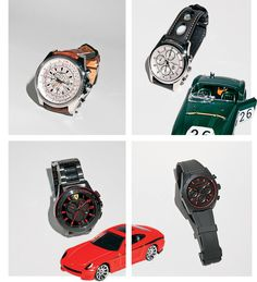 Indulge a need for speed with revved-up watches driven by dashboard aesthetics and racing-color combinations. Breitling, Casio Watch, Grand Prix, Jewels, Marketing, Watches, Accessories, Top, Jewerly