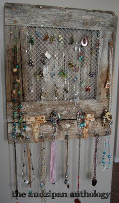 Ultra White Coral Jewelry Organizer READY TO SHIP Craft Show