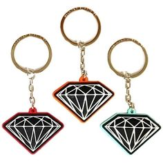 Brilliant Diamond Keychain