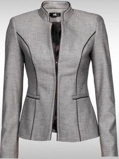 sıyah cızgılı Klasik Bayan Ceket Modelleri ile ilgili Klasik Bayan Ceket Modelleri yazısındaki resimleri içermektedir.