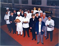 Pictured here is the crew of the Capitol Limited showing the diversity of the B&O Railroad. It is unquestioned that race and policy limited opportunities to African-Americans. Those African-American men and women who endured many forms of racism; however, they helped pave the way to our greater appreciation of cultural diversity in today's railroad.