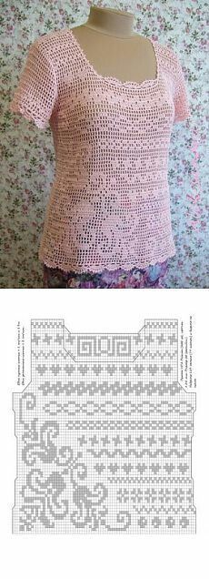 New crochet hat patterns ladies ideas Crochet Cardigan Pattern, Crochet Blouse, Crochet Lace, Lace Cardigan, Crochet Tops, Crochet Skirts, Crochet Clothes, Thread Crochet, Crochet Stitches