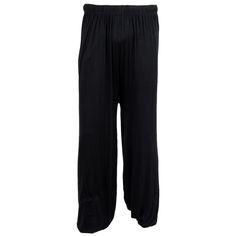 JHO-ELOS-yoga pants Loose Modal bloomers tai chi men women-Black,XXL - http://weightlossportal.org/?product=jho-elos-yoga-pants-loose-modal-bloomers-tai-chi-men-women-black-xxl