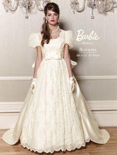 Cute Wedding Dress, Wedding Dresses, Barbie Bridal, Girls Dresses, Flower Girl Dresses, Google, Fashion, Dress Wedding, Flower Girl Gown