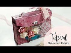 Tutorial Maleta Mary Poppins con Stone Paper - YouTube