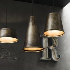 Lampada a sospensione Il Fanale mod. Khonus – Design Alpino