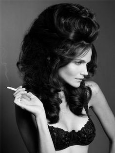 big texas hair reminds me of the south and the early 60's...gotta do this for halloween one year.