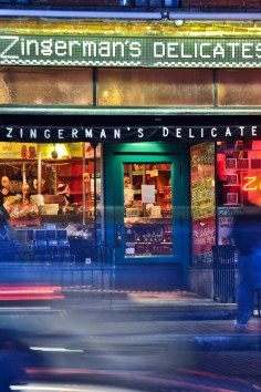 Zingerman's Deli is an Ann Arbor Michigan institution. It is the source of great food and experience and is a must have on a visit.