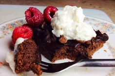 Black Forest Protein Brownies