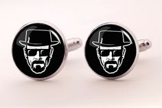 Great gift idea for real fan of Breaking Bad!  ------------------------------------------------- BREAKING BAD Cufflinks, 0496CS from EgginEgg by DaWanda.com