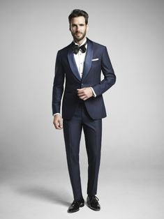Navy Dinner Suit.