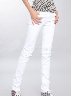 New Fashion Pure Color Slim Causual Pants