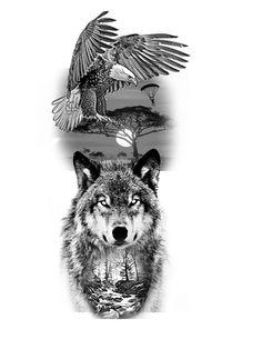 Forarm Tattoos, Love Tattoos, Hand Tattoos, I Tattoo, Half Sleeve Tattoos Designs, Tattoo Designs, Norse Tattoo, Animal Tattoos, Skull Art