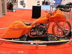 Harley Davidson Bike Pics is where you will find the best bike pics of Harley Davidson bikes from around the world. Harley Bagger, Bagger Motorcycle, Motorcycle Types, Harley Bikes, Concept Motorcycles, Custom Motorcycles, Custom Bikes, Custom Baggers, Custom Softail