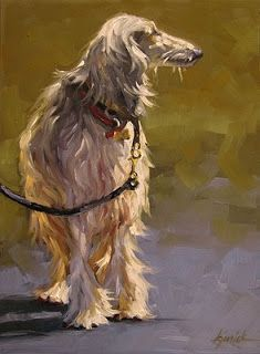 A Painting Today: dogs Karin Jurick