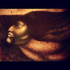"""Nicarao (2006)"" by #Nicaraguan artist #CarlosBarberena it's a portrayal of #NicaraoCacique Nicaraguan Indian chief #art #nicaragua #finearts #history - @francis_mariela- #webstagram"