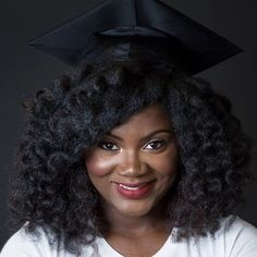 #ONYCHair claps for all of the women graduating this year with their glorious curls! Mimic this lovely look with our FRO-OUT™  and wand curl this style!   SHOP >>>  #graduationhair #curls #longhair #hairextensions #weekendinspiration #hairstyles #kinkyhair #texturedhair #hairideas #hairinspo #hairoftheday