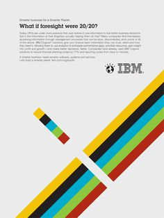 Carl DeTorres Graphic Design |  Series of illustrations for IBM's Smarter Planet campaign. This piece speaks to the ability to see problems before they happen.