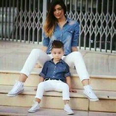 New fashion kids boy mothers Ideas Mom And Son Outfits, Outfits Niños, Family Outfits, Baby Boy Outfits, Mother Son Matching Outfits, Fashion Kids, Baby Boy Fashion, Toddler Fashion, Mommy And Son