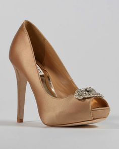 Goodie Bridal and Evening Shoe Pump by Badgley Mischka