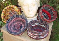 recycled ties | ToolGirl Mag Ruffman: How to Make Baskets and Hats from Recycled Neck ...