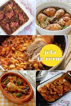 Dobra stara jela iz rerne: podvarak, pilav, prebranac, đuveč i pekarski krompir. http://mezze.rs/januar-2014/