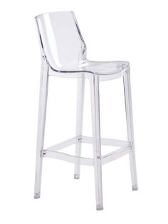 Translucent Clear Barstool