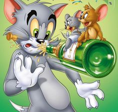 Desenhos tom e jerry episódio inéditos Tom And Jerry Hd, Tom & Jerry Image, Tom And Jerry Cartoon, Classic Cartoon Characters, Classic Cartoons, Disney Cartoons, Funny Cartoons, Toms Disney, Desenho Tom E Jerry