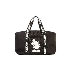 Black Mickey Mouse Nylon Weekend Bag | Women's Handbags | Women's Accessories | Our Full Women's Fashion Range | All Primark Products | Primark USA