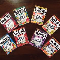 So many flavors, so little time! What's your favorite Welch's Fruit Snacks variety?
