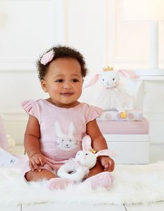 Elegant Baby First Look: From the delightful Bella the Bunny Elegant Gift Wrapping, Personalized Baby Gifts, Baby Girl Gifts, Sadie, Baby Wearing, Bunny, Luxury, Spring, Clothing