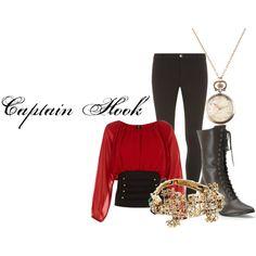 Captain Hook - Polyvore