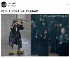 [Humor]Harry Potter Memes brasileiros - My random ish - gemischt Harry Potter Comics, Harry Potter Films, 100 Memes, Funny Memes, Hogwarts, Funny Christmas Movies, America Memes, Nerd, Bonnie Wright