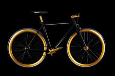 gold cycle one single speed fixed gear by nikolaus hartl for goldencycle